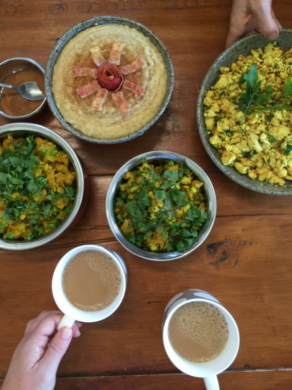 Ayurveda cooking school. Ayurveda is a healing science. It has five elements: space, air, fire, water and earth and three doshas: vata, pitta, kappa.