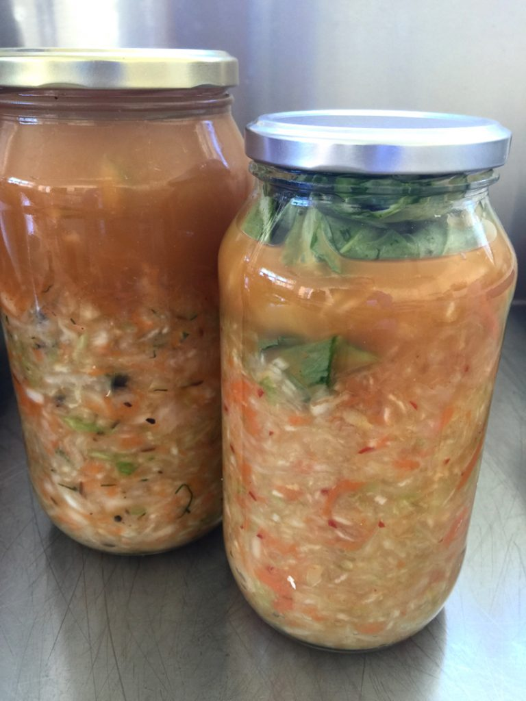 I signed up for The Vegetarian Cooking School because of Module 5. It's all about fermentation. Fermented foods have so many health benefits.
