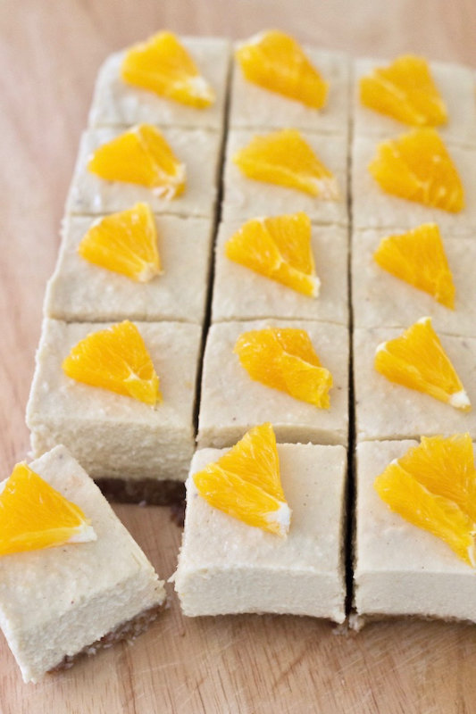 Orange coconut cheesecake combines fresh orange juice and lots of coconut for a creamy, tropical flavour that's hard to resist