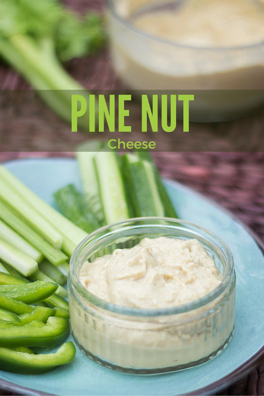 This recipe for pine nut cheese is a fast way to make a spreadable cheese that is great on crackers, toast, sandwiches and spread through pasta.