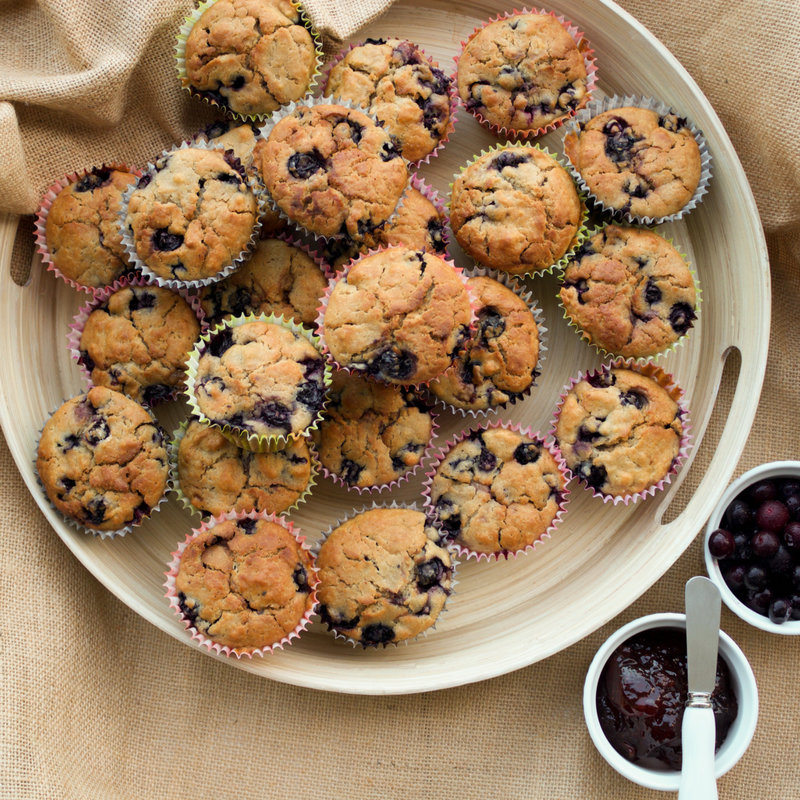 Egg free blueberry muffins are simple to make, quick to bake and take less than 15 minutes to get into the oven. They are the perfect on the go snack.